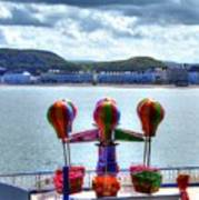 Llandudno Fun For The Kids On The Pier Art Print