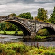 Llanrwst Bridge Panorama Art Print