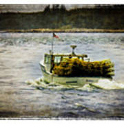 Lobster Boat 1f Art Print