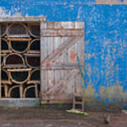 Lobster Trap Storage-2 Art Print