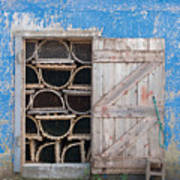 Lobster Trap Storage-3 Art Print