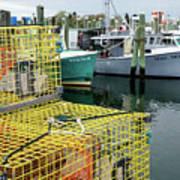 Lobster Traps In Galilee Art Print