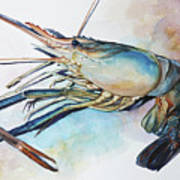 Lobster_001 Art Print