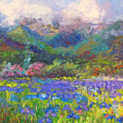 Local Color Art Print by Talya Johnson