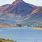 Loch Arklet And The Arrochar Alps Art Print