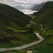 Loch Assynt Art Print