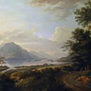Loch Awe. Argyllshire Art Print