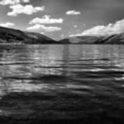 Loch Earn Scotland Art Print