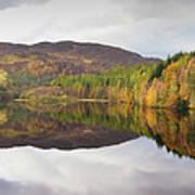 Loch Faskally Autumn Art Print