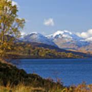 Loch Katrine And The Arrochar Alps Art Print