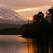 Loch Lochy Art Print