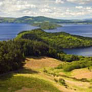 Loch Lomond From Conic Hill Art Print