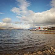 Loch Lomond Landscape Art Print