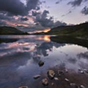 Loch Lubhair Art Print