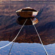 Loch Maree Boat Art Print