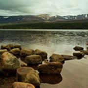 Loch Morlich And The Cairn Gorms Art Print