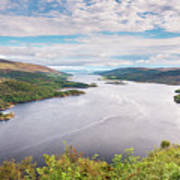 Loch Riddon And Isle Of Bute Art Print