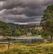 Loch Tulla, Scotland Art Print
