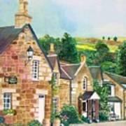 Loch Tummel Innn - Scotland Art Print