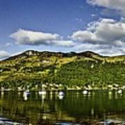 Lochgoilhead Panorama Art Print