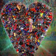 Locket Heart-4 Art Print
