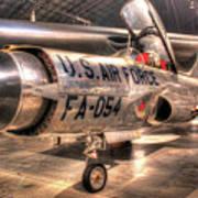 Lockheed F-94 Model C Starfire Art Print