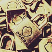 Locks From Sheriff Penitentiary Art Print