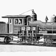 Locomotive, 1893 Art Print