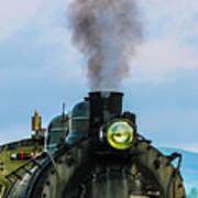 Locomotive 26 Steamtown  Art Print