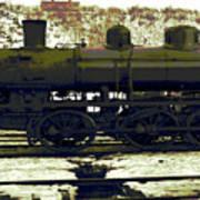 Locomotive Vector Art Print