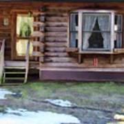Log Cabin 1 Art Print