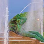 Logan Circle Fountain 3 Art Print