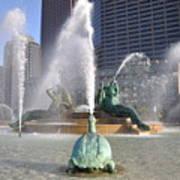 Logan Circle Fountain Art Print