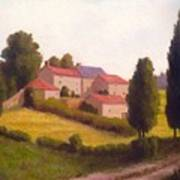 Loire Valley Apres Midi Art Print