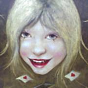 Lolita Died Art Print