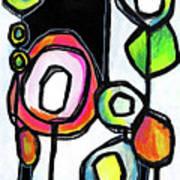 Lollipop Forest Art Print