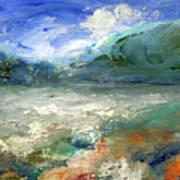 Lombard Lake Art Print