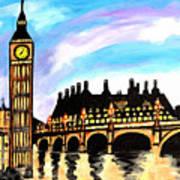 London After Eight Art Print