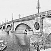 London Bridge Lake Havasu City Arizona Art Print