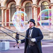 London Bubbles 4 Art Print