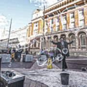 London Bubbles 8 Art Print