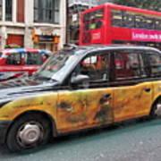 London Busy Street Art Print
