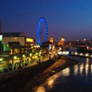 London By Night Art Print