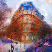 London Central Print by Marilyn Sholin