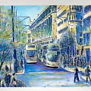 London City Oxford Street Art Print