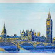 London City Westminster Art Print
