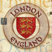 London Coat Of Arms Art Print