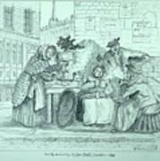 London Coffee Stall Art Print