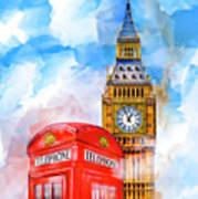 London Dreaming Art Print