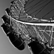 London Eye Print by David Pyatt